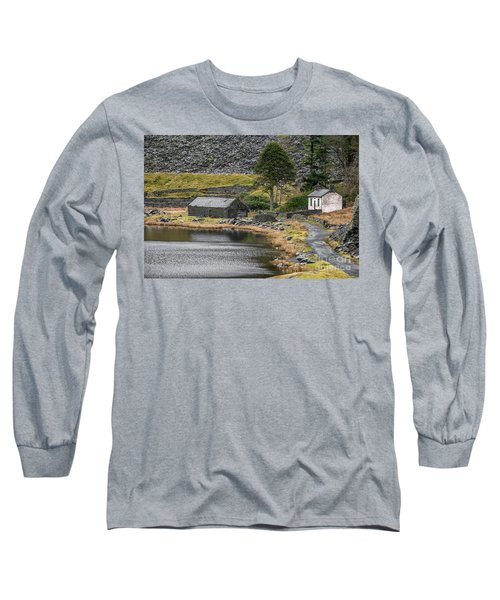 Long Sleeve T-Shirt featuring the photograph Ruins At Cwmorthin by Adrian Evans