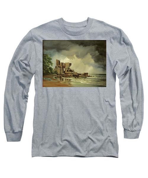 Ruins Near Kenosha Long Sleeve T-Shirt