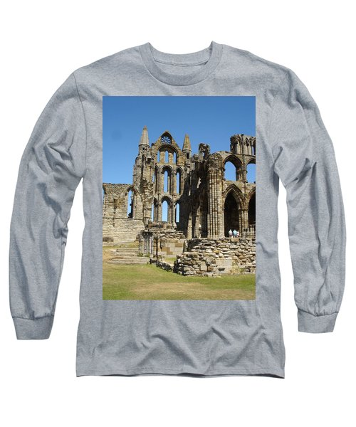 Ruins Of Whitby Abbey Long Sleeve T-Shirt