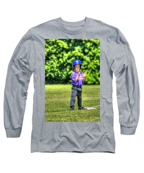 Runner On Third 1815 Long Sleeve T-Shirt
