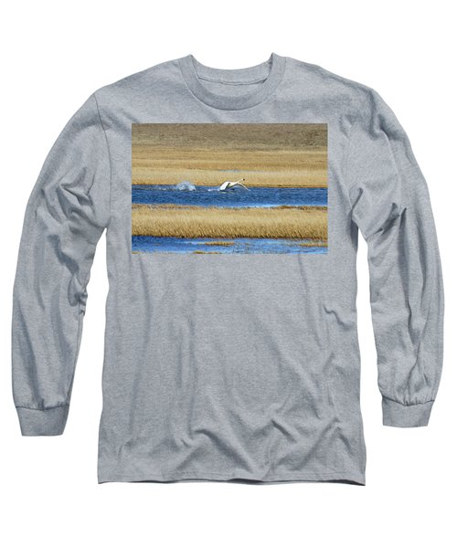 Running On Water Long Sleeve T-Shirt