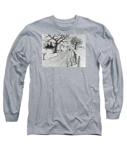 Rural Living Long Sleeve T-Shirt by Jack G Brauer