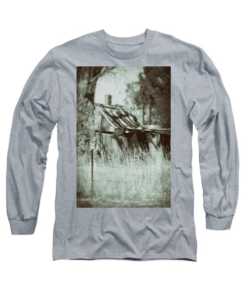 Long Sleeve T-Shirt featuring the photograph Rural Reminiscence by Linda Lees