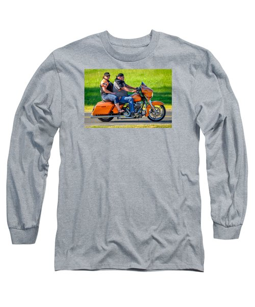 Rural Ride Long Sleeve T-Shirt by Brian Stevens