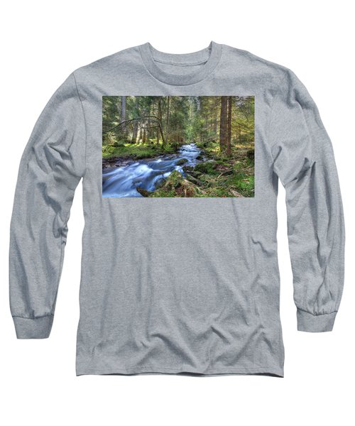 Rushing Stream Long Sleeve T-Shirt