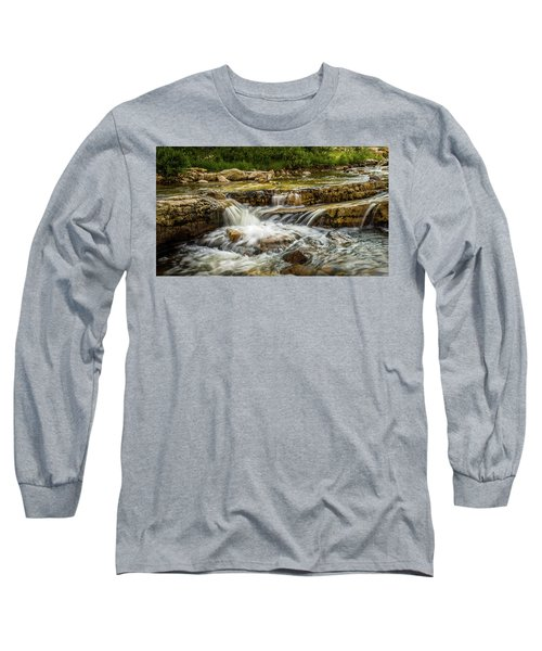 Rushing Waters - Upper Provo River Long Sleeve T-Shirt