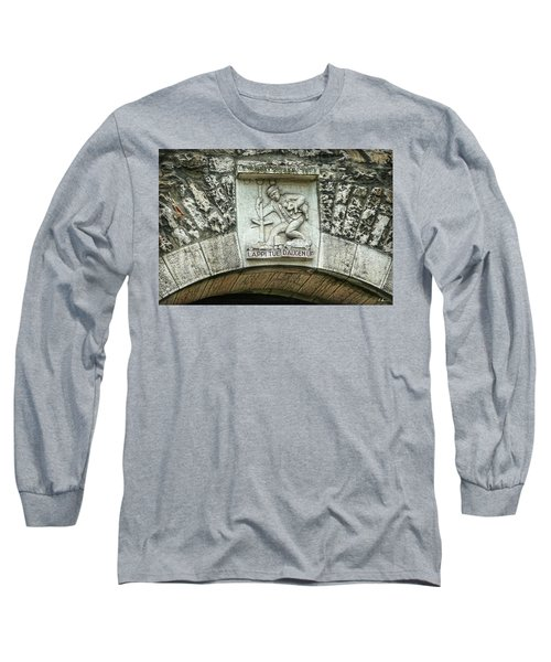 Long Sleeve T-Shirt featuring the photograph Russian To Swiss Dialect Translation by Hanny Heim