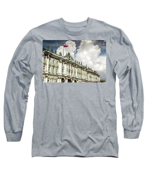 Russian Winter Palace Long Sleeve T-Shirt