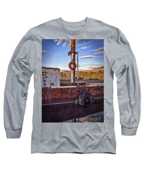 Long Sleeve T-Shirt featuring the photograph Rust Never Sleeps by Mitch Shindelbower