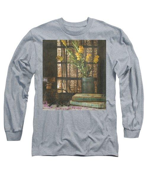Rustic Still Life 1 Long Sleeve T-Shirt