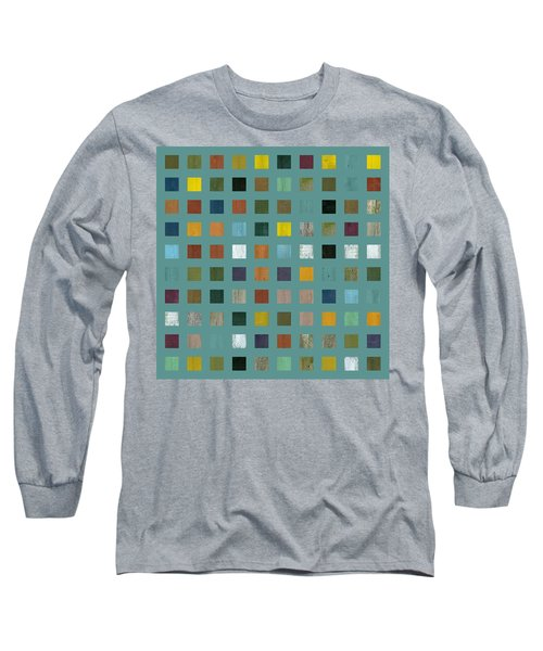 Rustic Wooden Abstract Vl Long Sleeve T-Shirt