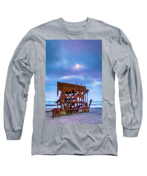 Rusting Peter Iredale Long Sleeve T-Shirt