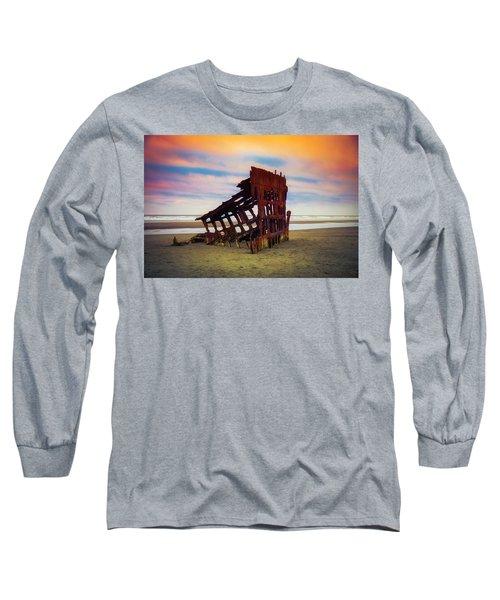 Rusting Shipwreck Long Sleeve T-Shirt