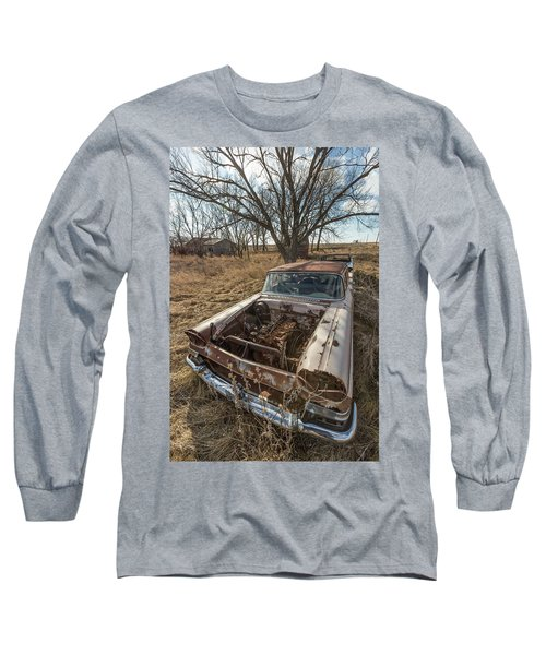 Long Sleeve T-Shirt featuring the photograph Rusty by Aaron J Groen