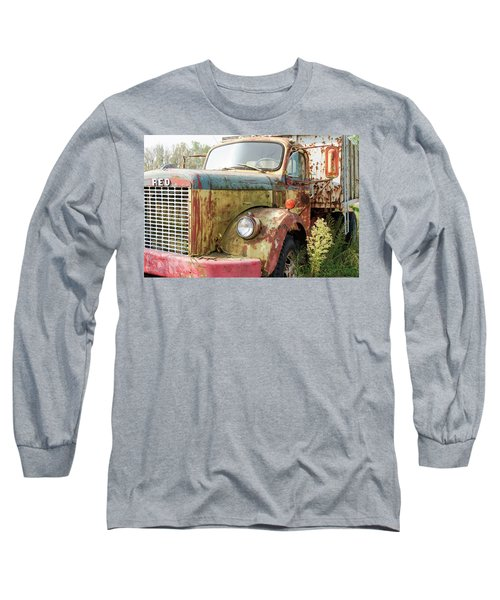 Rusty And Crusty Reo Truck Long Sleeve T-Shirt