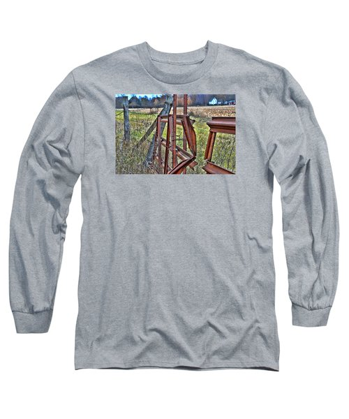 Rusty Gate Long Sleeve T-Shirt by Pat Cook