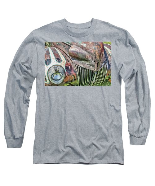 Rusty Road Warrior Long Sleeve T-Shirt by David Lawson
