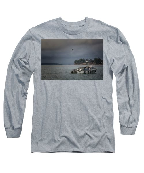 Long Sleeve T-Shirt featuring the photograph Ryan D by Randy Hall