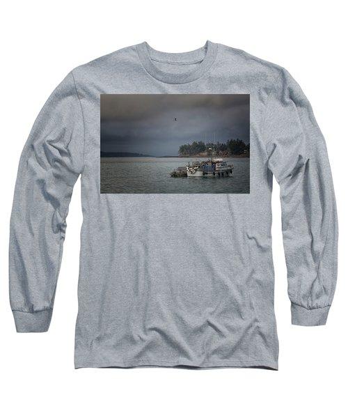 Ryan D Long Sleeve T-Shirt by Randy Hall