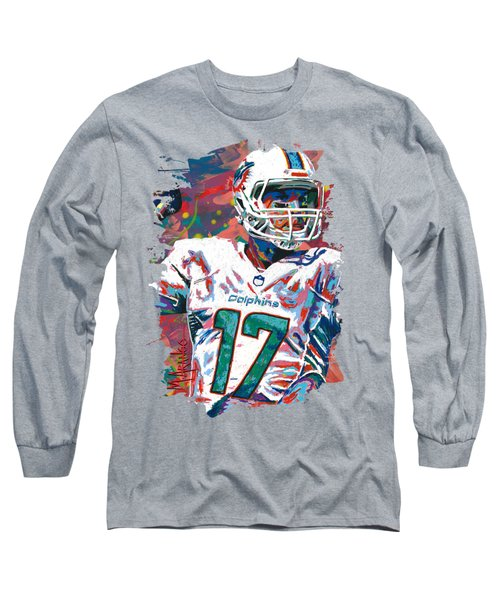 Ryan Tannehill Long Sleeve T-Shirt by Maria Arango