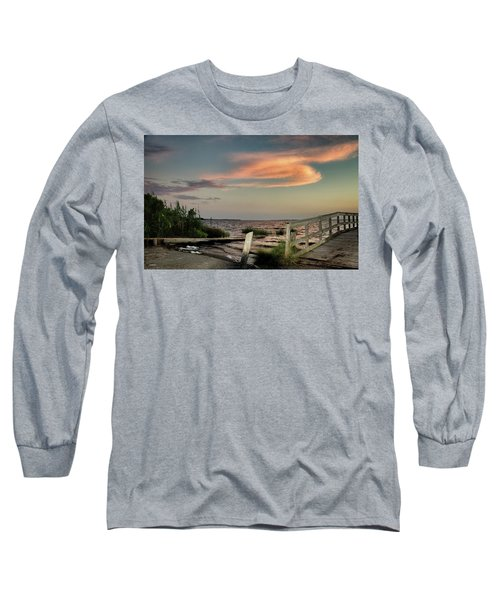 Time Is A River Long Sleeve T-Shirt by Phil Mancuso