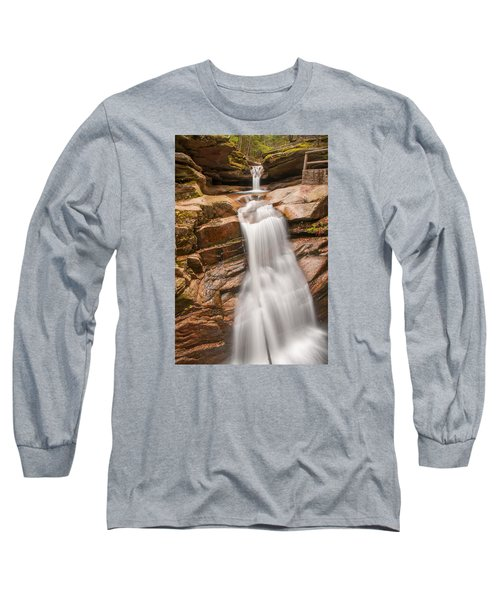 Sabbaday Falls Long Sleeve T-Shirt by Brenda Jacobs