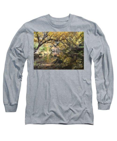 Sabino Canyon In Fall Long Sleeve T-Shirt