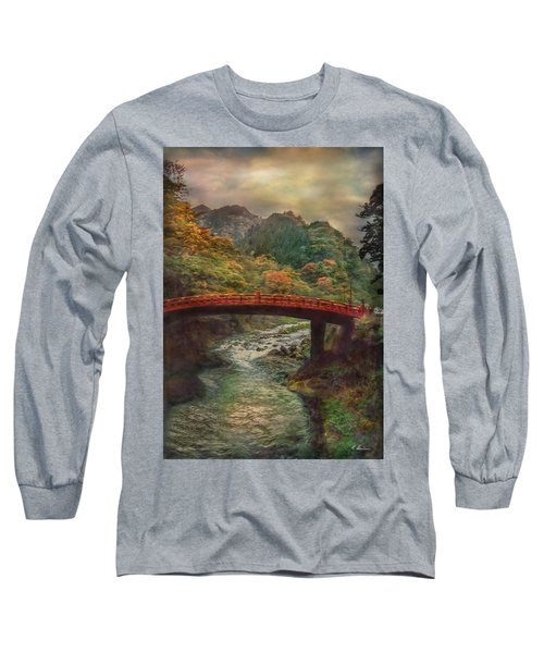 Long Sleeve T-Shirt featuring the photograph Sacred Bridge by Hanny Heim
