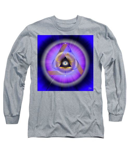 Sacred Geometry 642 Long Sleeve T-Shirt by Endre Balogh