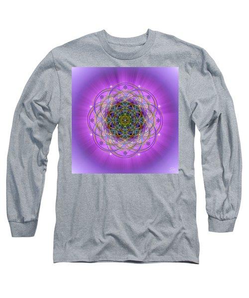 Sacred Geometry 715 Long Sleeve T-Shirt