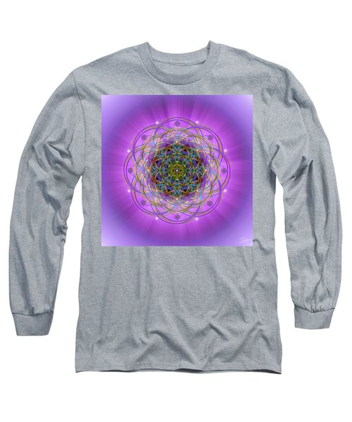 Sacred Geometry 715 Long Sleeve T-Shirt