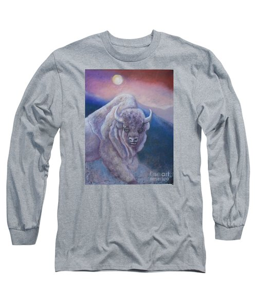Sacred White Buffalo Long Sleeve T-Shirt