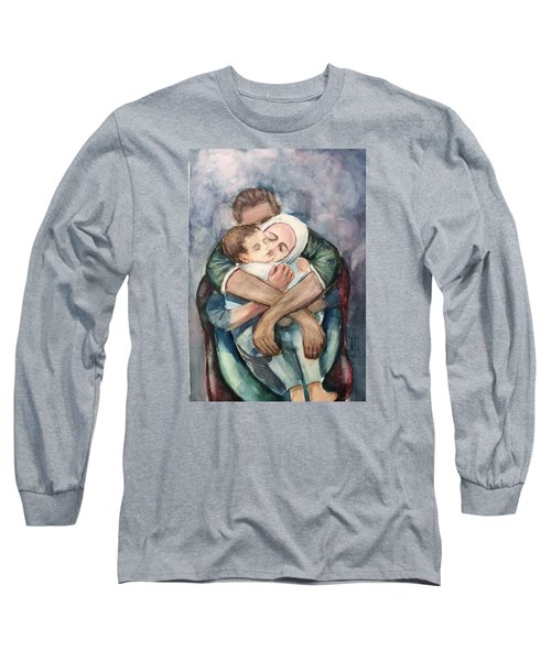 The Saddest Moment Long Sleeve T-Shirt by Laila Awad Jamaleldin