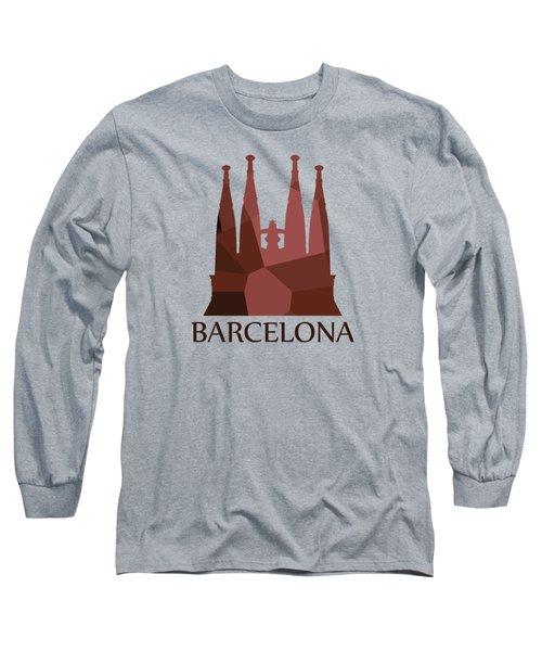 Sagrada Familia Long Sleeve T-Shirt