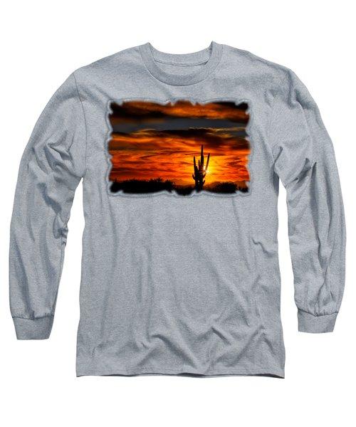 Saguaro Sunset H31 Long Sleeve T-Shirt