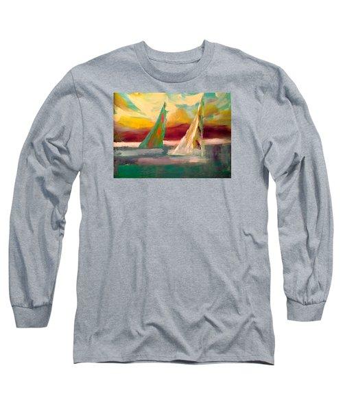 Sail Away 1 Long Sleeve T-Shirt