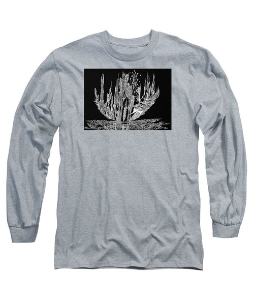 Sail Away Long Sleeve T-Shirt by Charles Cater