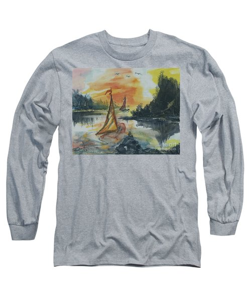 Sail Away Long Sleeve T-Shirt