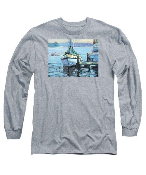 Sailboat At Rest Long Sleeve T-Shirt