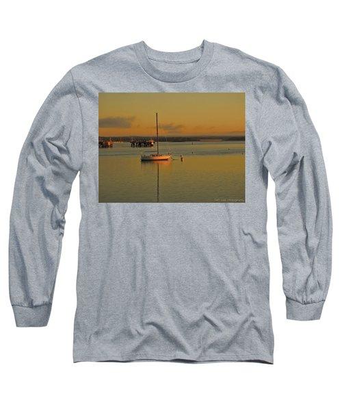 Sailboat Glow Long Sleeve T-Shirt