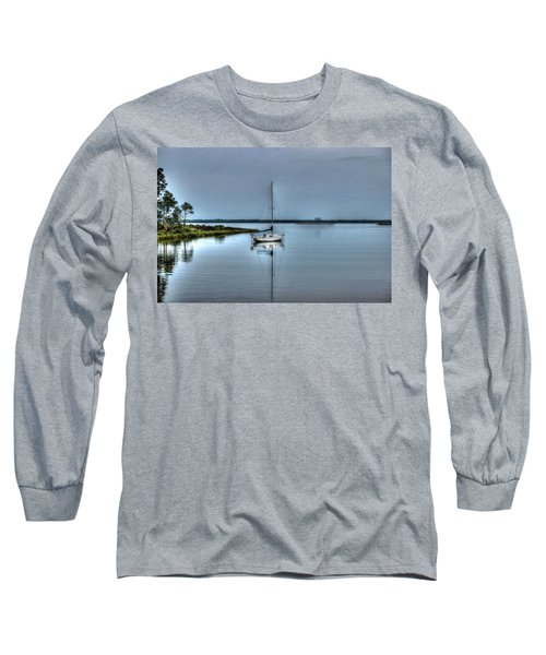 Sailboat Off Plash Long Sleeve T-Shirt