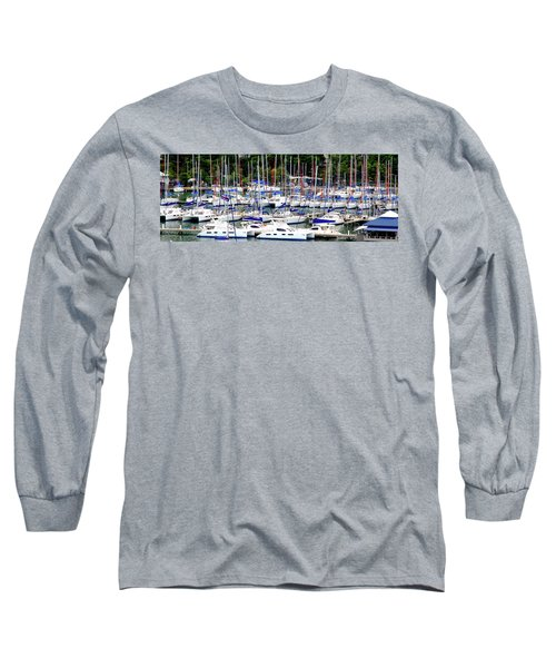 Sailboats Long Sleeve T-Shirt