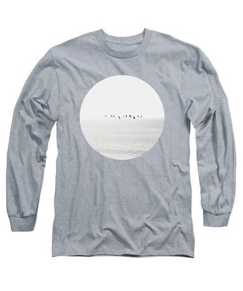 Sailboats Regatta Seascape Long Sleeve T-Shirt