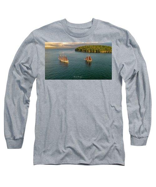 Sailing Frenchman Bay Long Sleeve T-Shirt