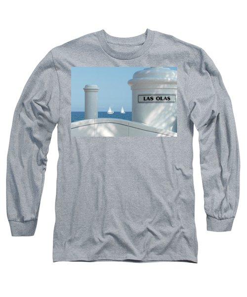 Sailing Las Olas Long Sleeve T-Shirt