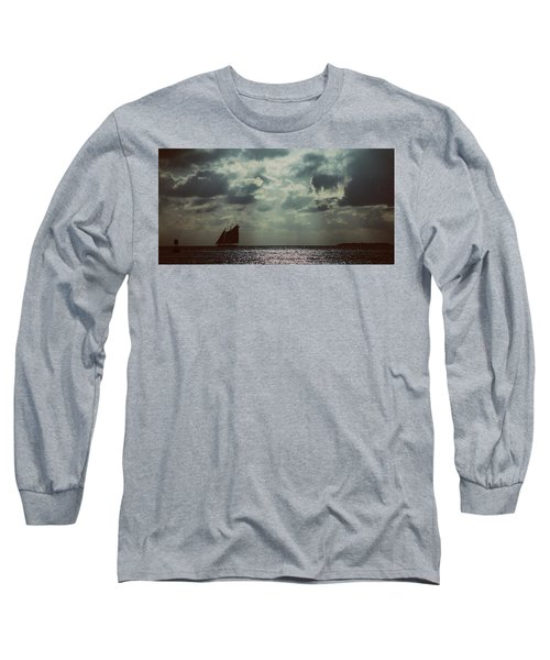 Sailing Long Sleeve T-Shirt by Scott Meyer