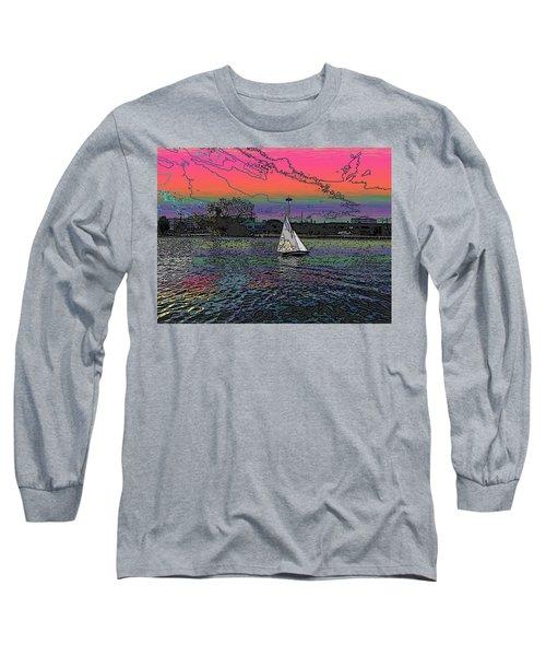 Sailing South Lake Union Long Sleeve T-Shirt
