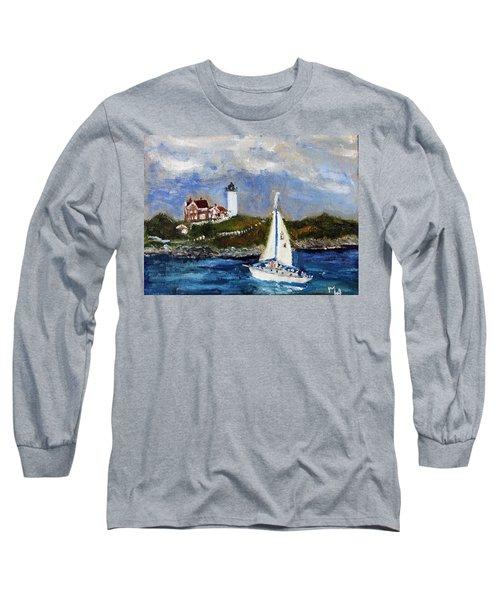 Sailing To Martha's Vineyard Long Sleeve T-Shirt