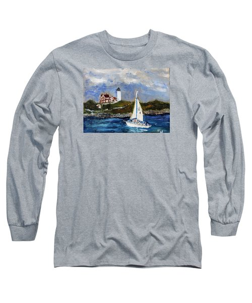 Sailing To Martha's Vineyard Long Sleeve T-Shirt