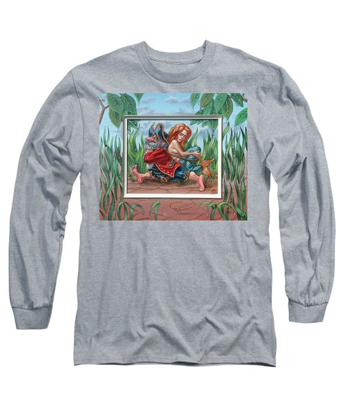 Sailor And Mermaid Long Sleeve T-Shirt